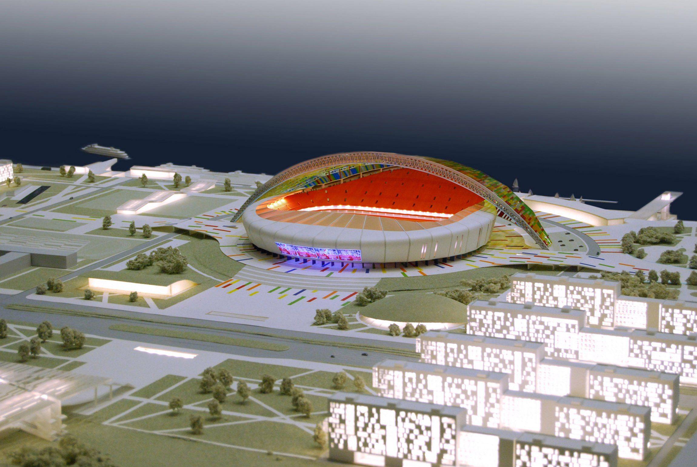 Стадионы Чемпионата Мира 2018 Кто Строит